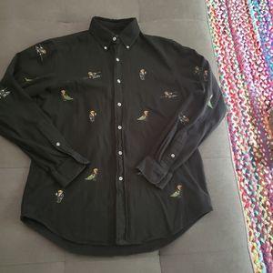 Polo ralph lauren holiday bear shirt
